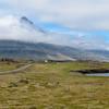 Traveling toward  Bulandstindur mountains, June 14, 2017 near Djupivogur.