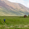 Grafarkirkja  is reported to be the oldest Christian church in Iceland and sits in a stunning setting.  Walking through the field to the turf church, there were many snipe fussing protectively and flying about.