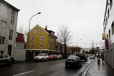 Geirsgata In The Rain