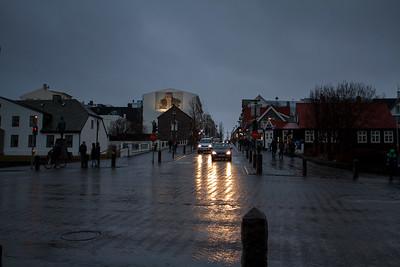 A Rainy Evening On Laekjargata