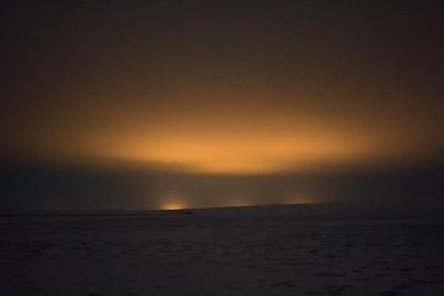 Þingvellir At Night: Not The Northern Lights