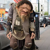 A troll on the street of Reykjavik.