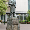 Statue honoring Skuli Magnusson (1711-1794).  He is considered by many to be the founder of Reykjavik as a city. He established a number of Icelandic-controlled industries, opened mills and tanneries, and brought in foreign craftspeople to teach Icelanders their skills.