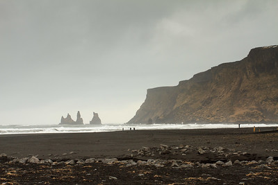 The Beach At Vík