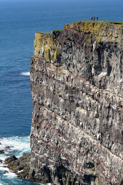 Latrabjarg Cliffs are the western-most point of Iceland.