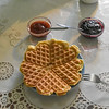 Love-ly waffles are the specialty at Litlibaer.