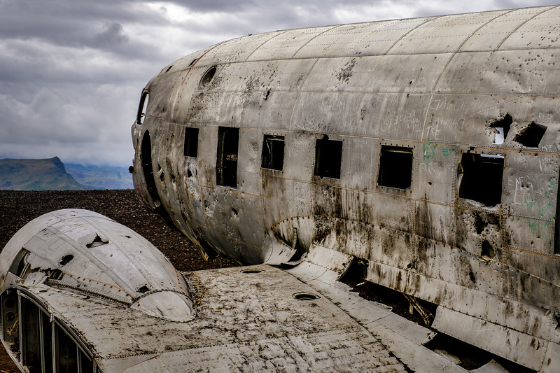 Crashed DC3 - Iceland