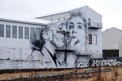 Walking the streets of Reykjavik, Iceland.