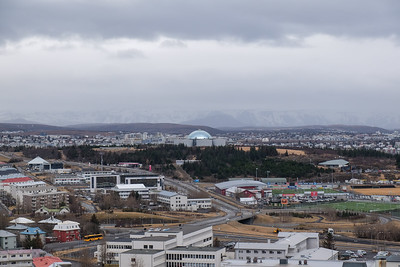 View to The Perlan and beyond.