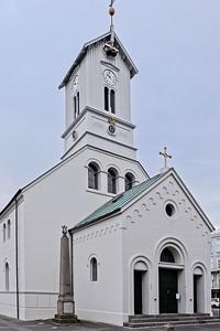 Domkirkjan, the National Cathedral of Reykjavík, 1796.