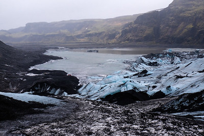 Great view of the Glacier and the lagoon.