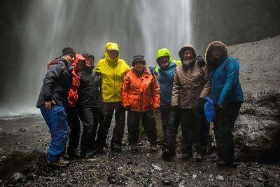 The brave ones....very wet!