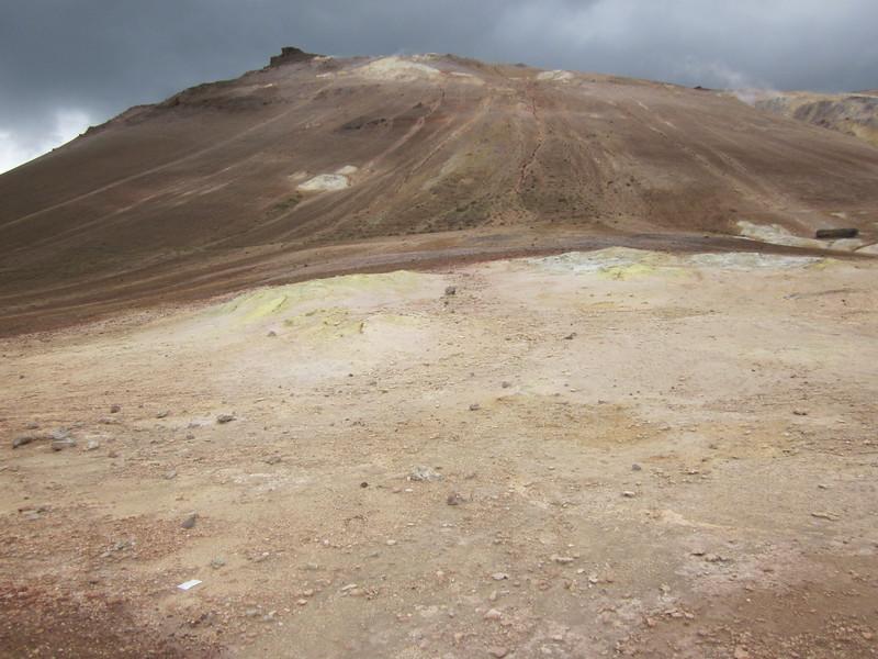 Alien landscape at Námaskarð