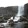 The falls at Þingvellir.