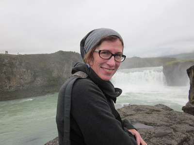 Arah at Goðafoss