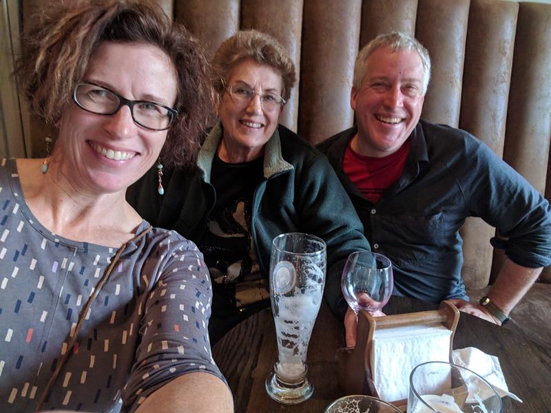 Dinner at Foss Hotel.