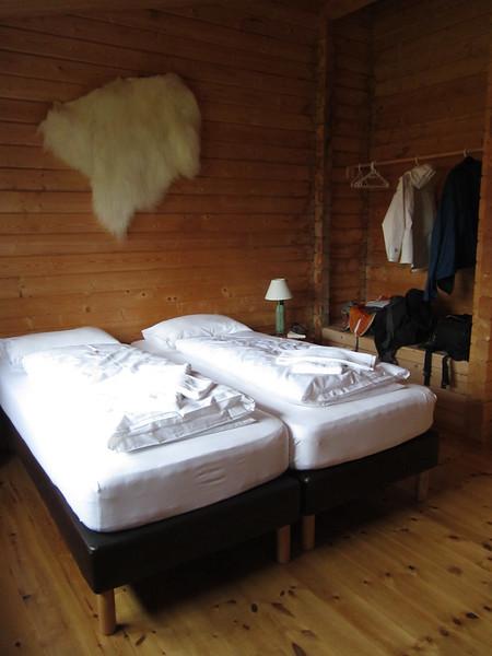 Our cottage at Álfheimur country hotel in Borgarfjordur Eystri