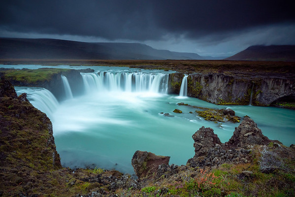Storm over Godafoss