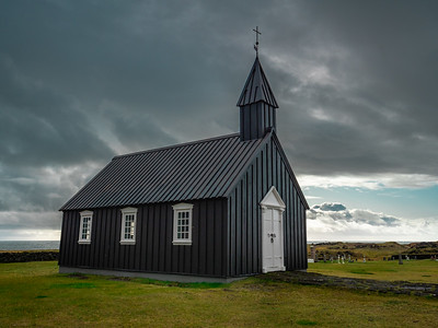 Dark Skies over the Black Church of Budir