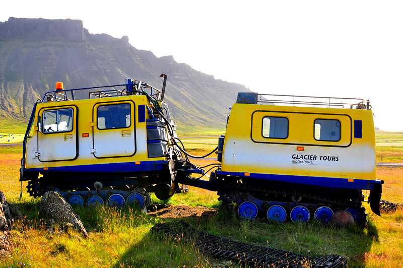 Glacier Tours, Iceland