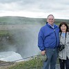 At Gullfoss Waterfall