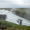 Gulfoss Waterfall, on Golden Circle Bus Tour