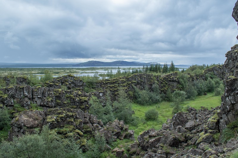 Þingvellir National Park on Golden Circle bus tour