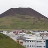 Eldfell Volcano, Heimaey Island, erupted in 1973,  destroying 400 homes
