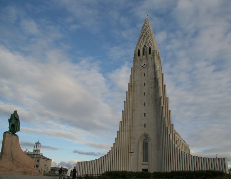 The Hallgrimskirkja.  Or something like that.