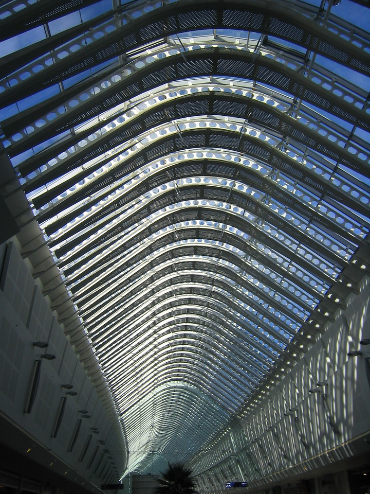 Mall skylight...