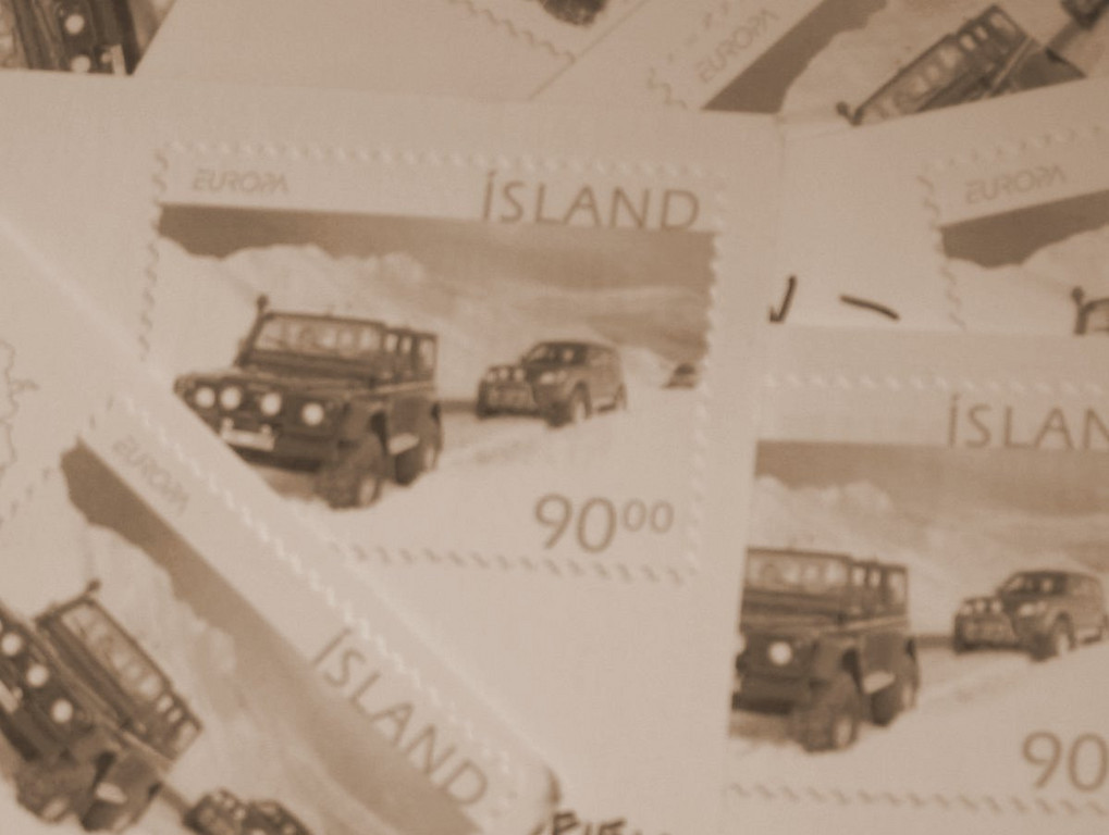 I mailed a lot of postcards...