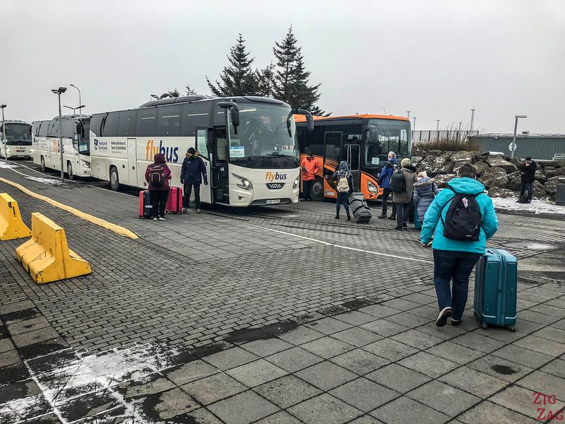 Navette de l'aéroport de Reykjavik