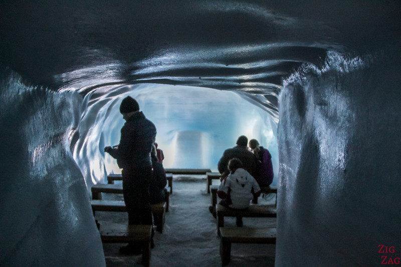 tunnel de glace de Langjokull Islande - chambre