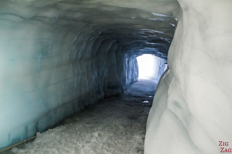 tunnel de glace de Langjokull Islande - photo