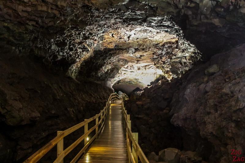 Vidgelmir - grotte de lave