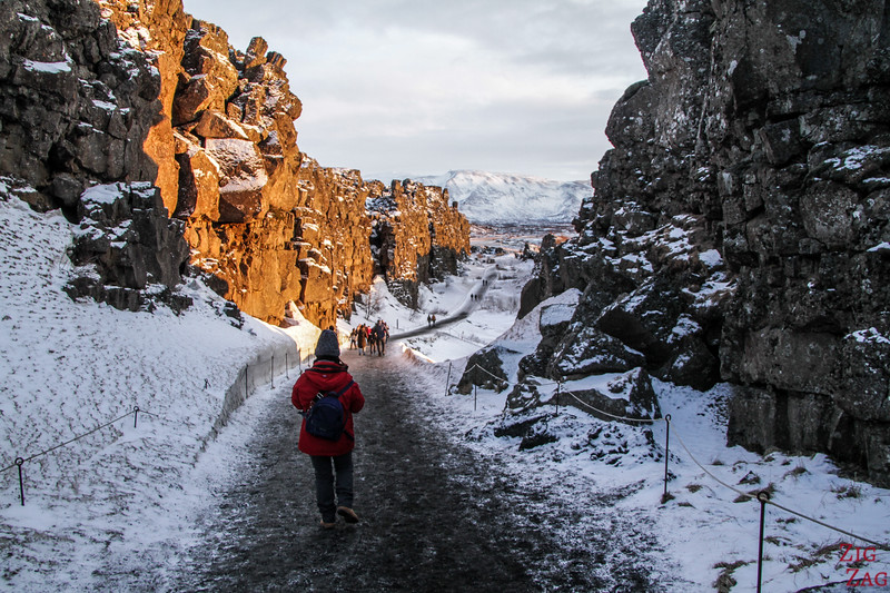 Le parc national de Thingvellir en hiver 1