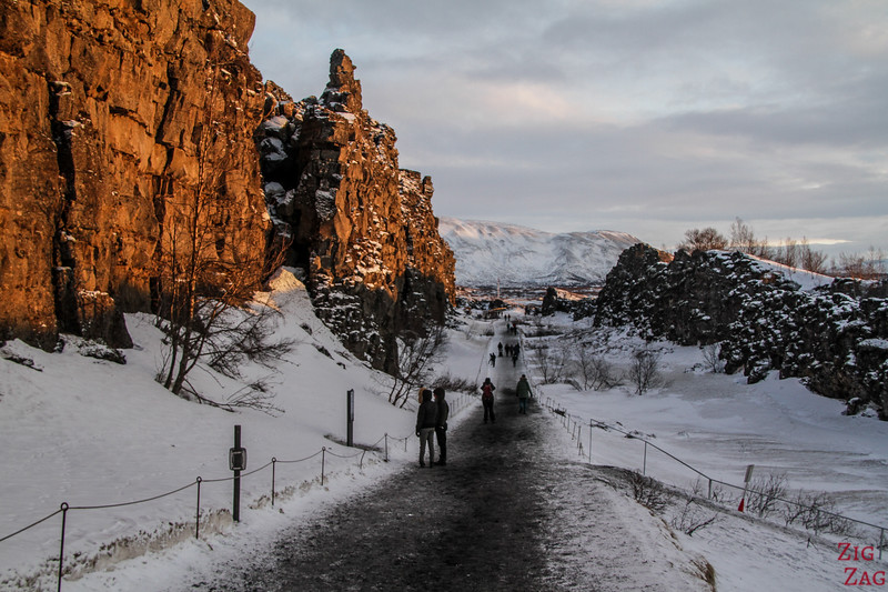 Why visit Thingvellir National Park in Winter