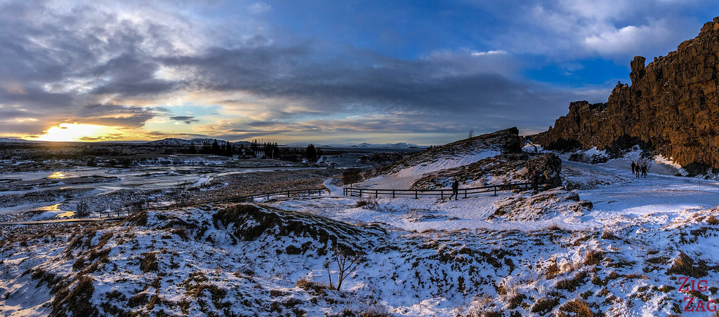 Le parc national de Thingvellir en hiver 3