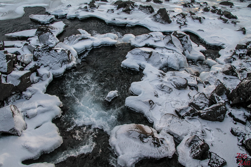 Le parc national de Thingvellir en hiver 2