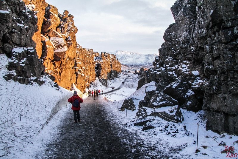 Park National de Thingvellir en hiver