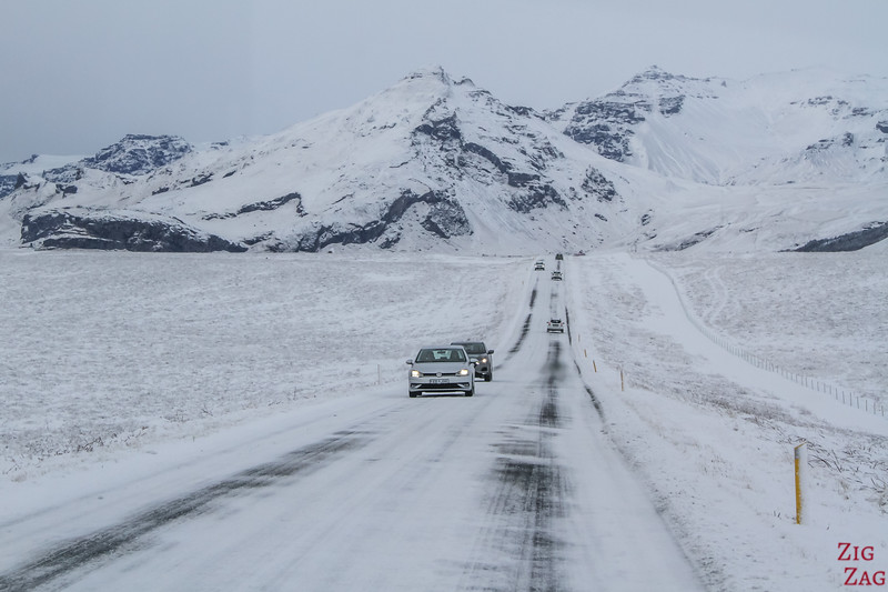 Driving Iceland South Coast Winter photo 1