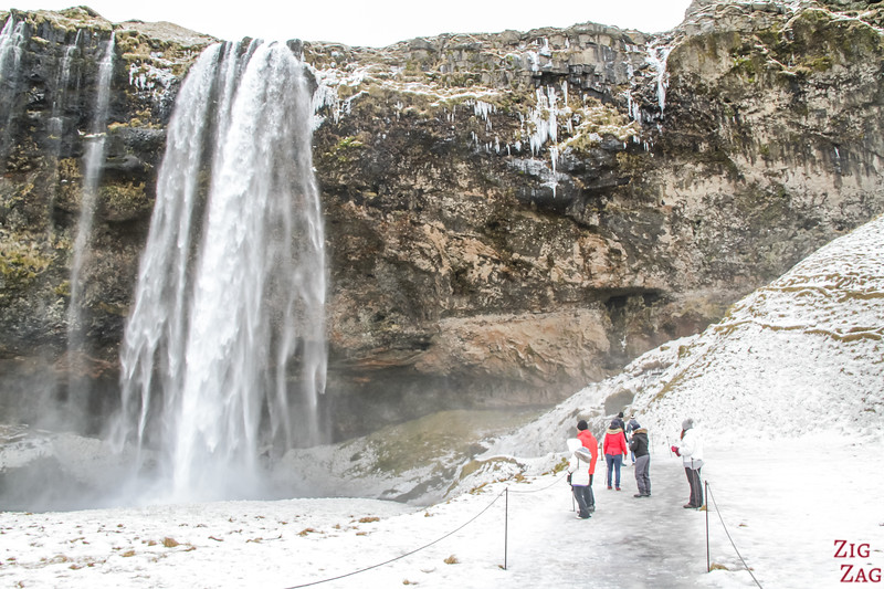 Seljalandsfoss in Winter 2