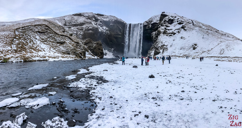 Skogafoss in Winter