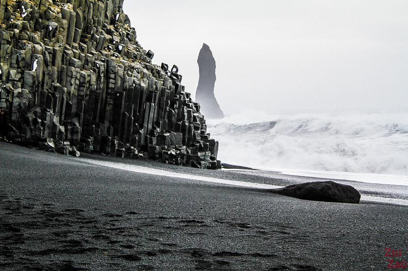 Reynisfjara black beach