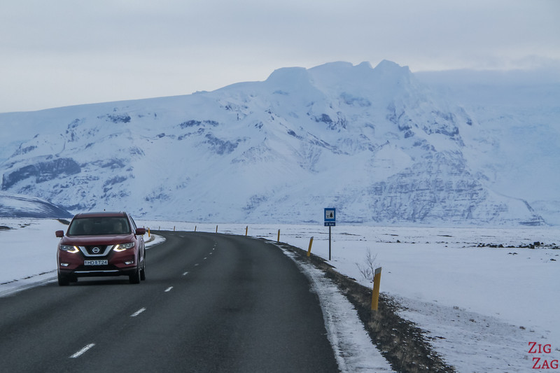 Driving Iceland South Coast Winter photo 4