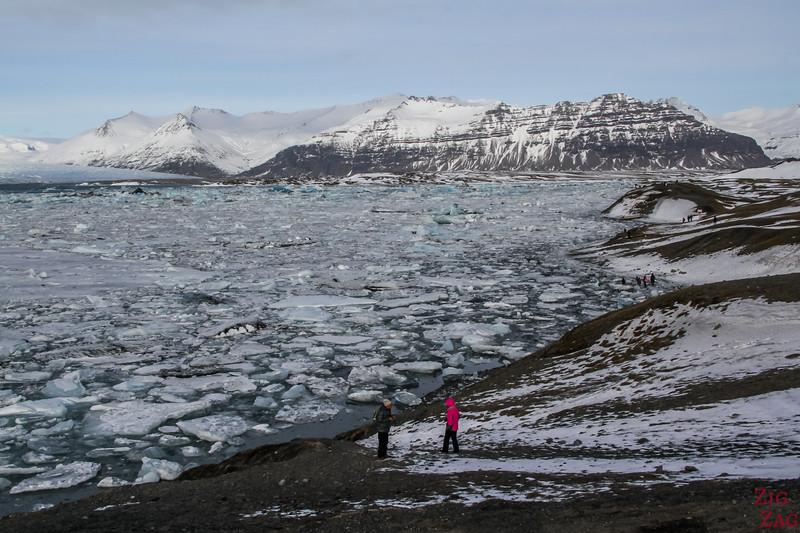 Jokulsarlon Glacier Lagoon in Winter 3