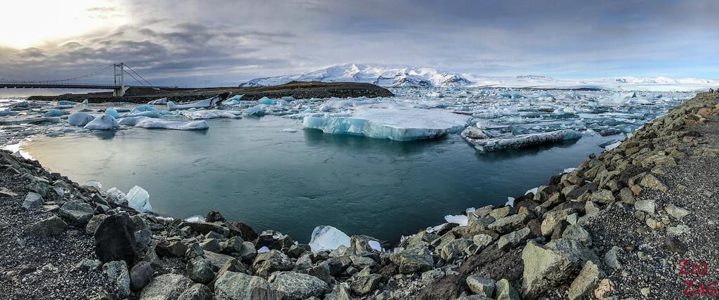Jokulsarlon Glacier Lagoon in Winter 1