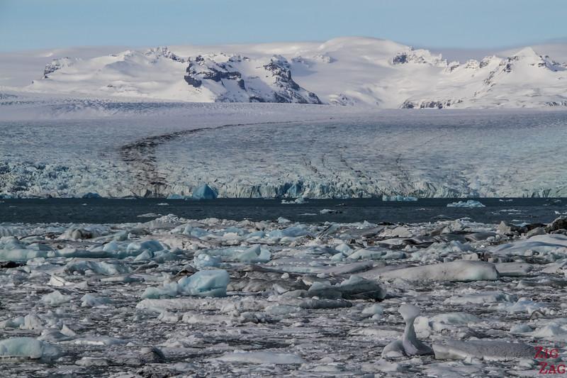 The Glacier Vatnajokull