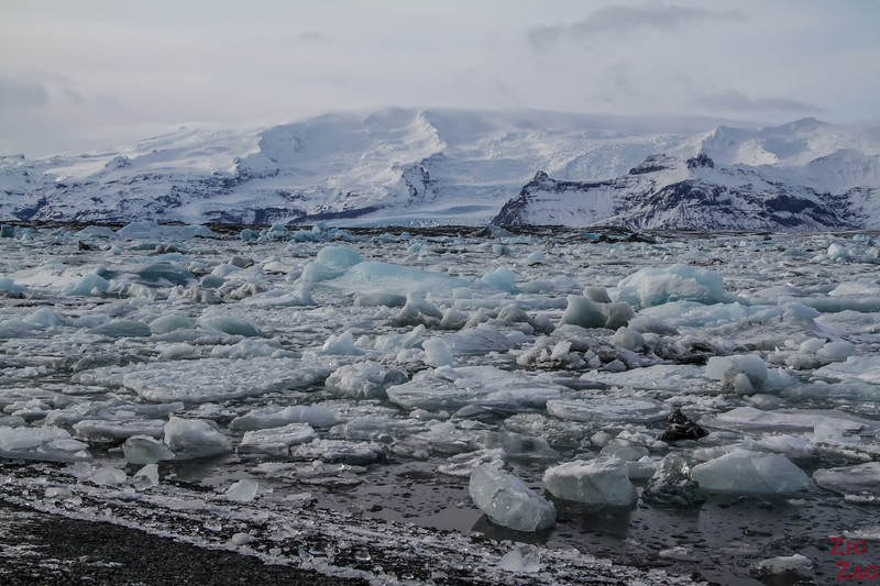 Jokulsarlon im Winter