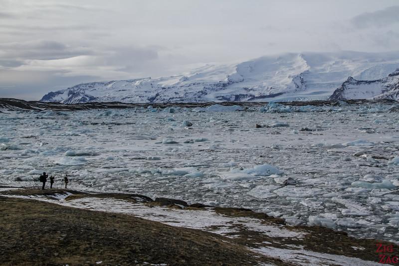 Jokulsarlon Glacier Lagoon in Winter 4